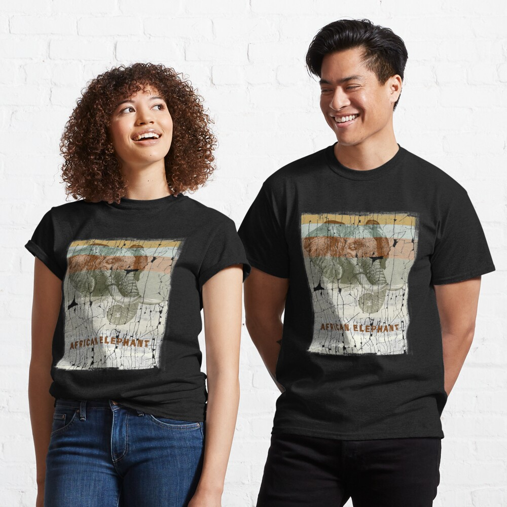 African Elephant - Protect Endangered Species Classic T-Shirt