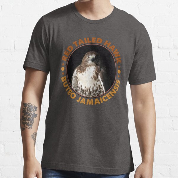 Beautiful Red Tailed Hawk Portrait for Falconers and Bird Watchers Essential T-Shirt