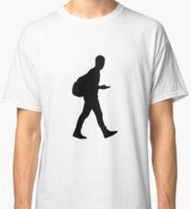 Handyman smartphone man Classic T-Shirt