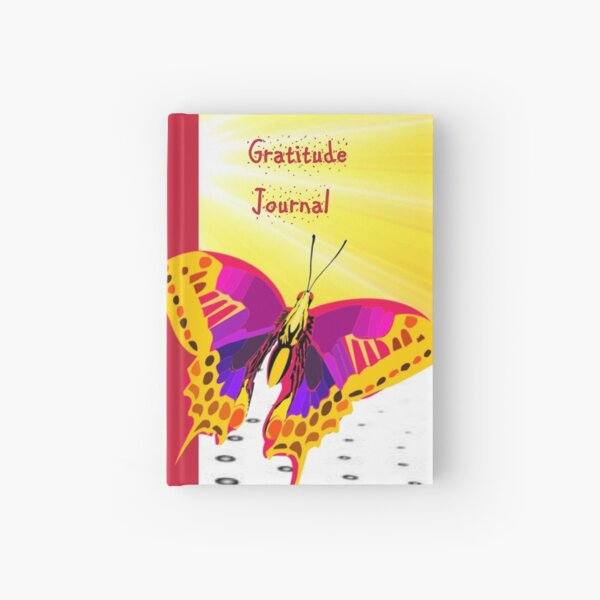 Flowers and Sunshine Butterfly Hardcover Journal