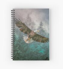 Land of The Eagle Spiral Notebook