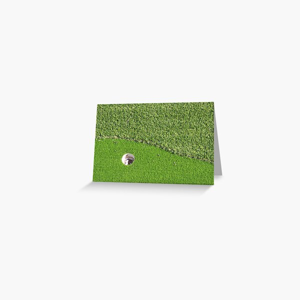 On the Green Greeting Card