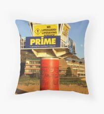 Lifesavers lookout Throw Pillow