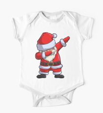 Dabbing Santa T Shirt Claus Christmas Funny Dab X-mas Gifts Kids Boys Girls Men Women Short Sleeve Baby One-Piece