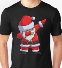 Dabbing Santa T Shirt Claus Christmas Funny Dab X-mas Gifts Kids Boys Girls Men Women Unisex T-Shirt