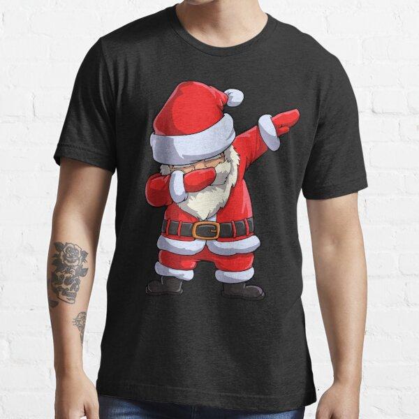 Dabbing Santa T Shirt Claus Christmas Funny Dab X-mas Gifts Kids Boys Girls Men Women Essential T-Shirt