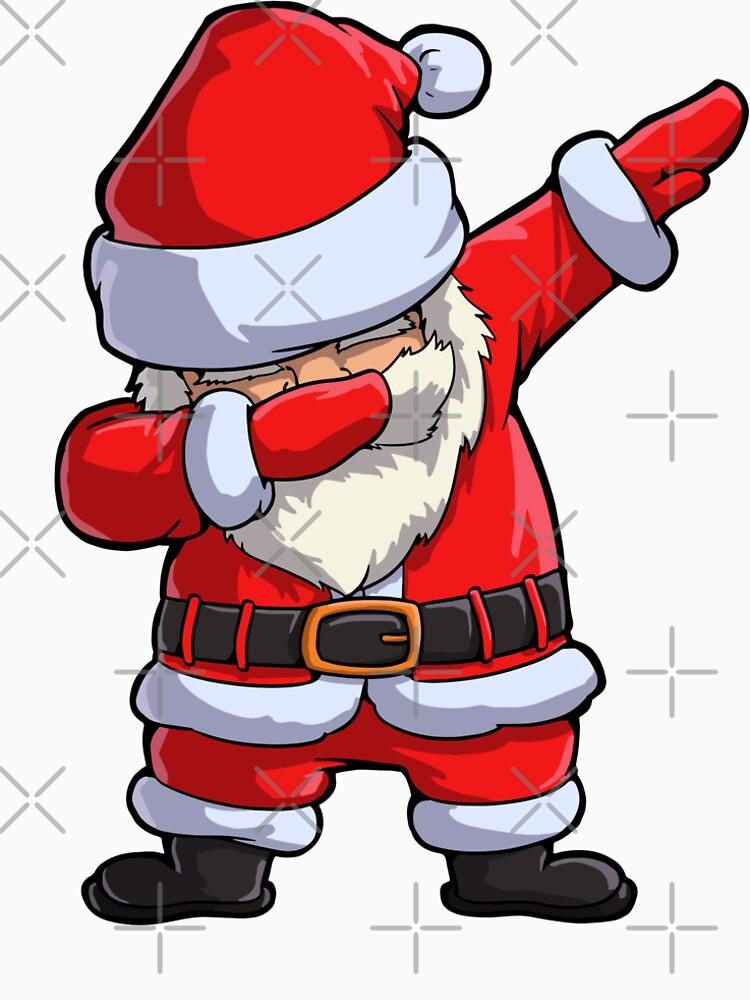 Dabbing Santa T Shirt Claus Christmas Funny Dab X-mas Gifts Kids Boys Girls Men Women by LiqueGifts