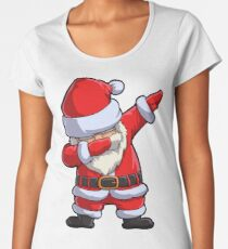 Dabbing Santa T Shirt Claus Christmas Funny Dab X-mas Gifts Kids Boys Girls Men Women Women's Premium T-Shirt