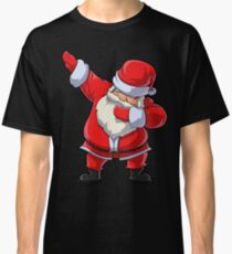Dabbing Santa T Shirt Claus Christmas Funny Dab X-mas Gifts Kids Boys Girls Youth Classic T-Shirt