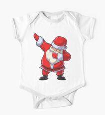Dabbing Santa T Shirt Claus Christmas Funny Dab X-mas Gifts Kids Boys Girls Youth Short Sleeve Baby One-Piece