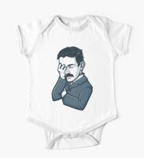 Nikola Tesla Facepalm One Piece - Short Sleeve