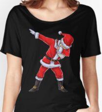 Dabbing Santa T Shirt Claus Christmas Funny Dab X-mas Gifts Kids Boys Girls Youth Women's Relaxed Fit T-Shirt