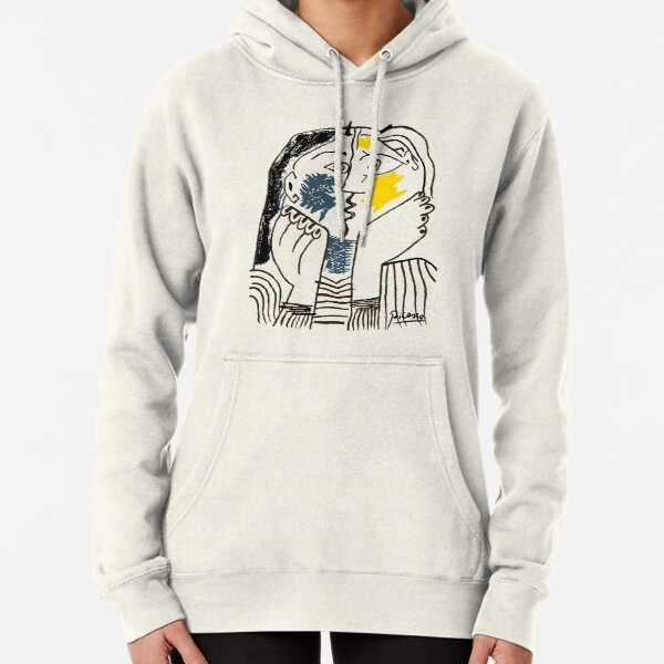Pablo Picasso The Kiss 1979 Artwork Reproduction For T Shirt, Framed Prints Pullover Hoodie