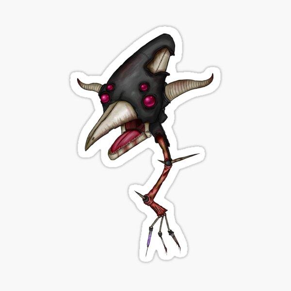 Black Deathswoop Sticker