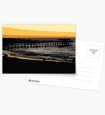 Henley jetty at dusk Postcards
