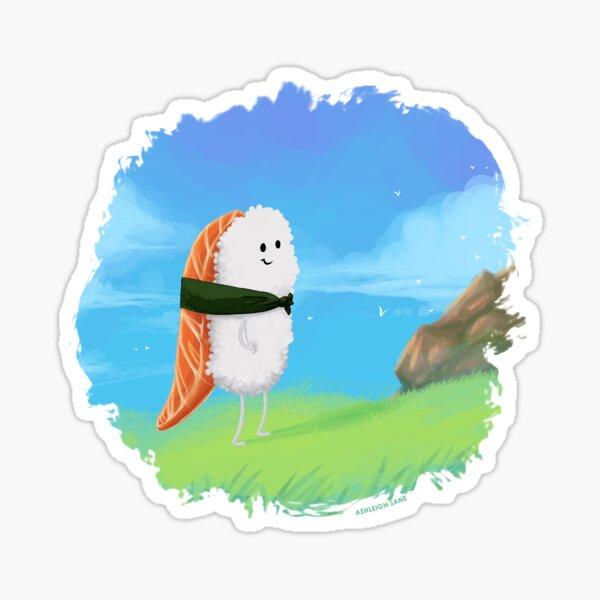 Nigiri Traveler Sticker