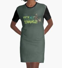 i am only available with terrarium Graphic T-Shirt Dress