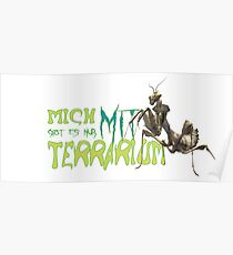 i am only available with terrarium Poster