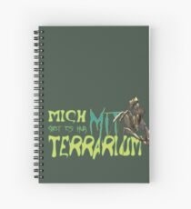 i am only available with terrarium Spiral Notebook
