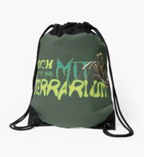 i am only available with terrarium Drawstring Bag