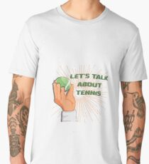 Funny design for tennis fans Men's Premium T-Shirt