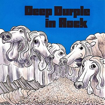 Deep Durple In Rock by andrewledwith