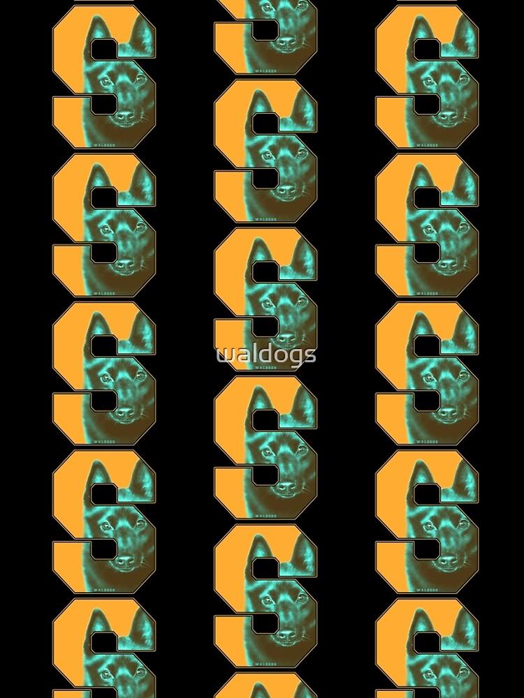 Retro Schipperke by waldogs