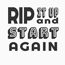 Rip it Up  and Start Again - Back to the Drawing Board (Design Day 217) by TNTs
