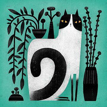 CAT SHELF BACK by terryrunyan
