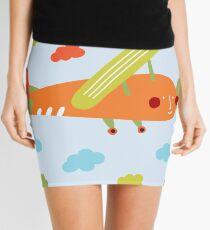 Carrot plane Mini Skirt