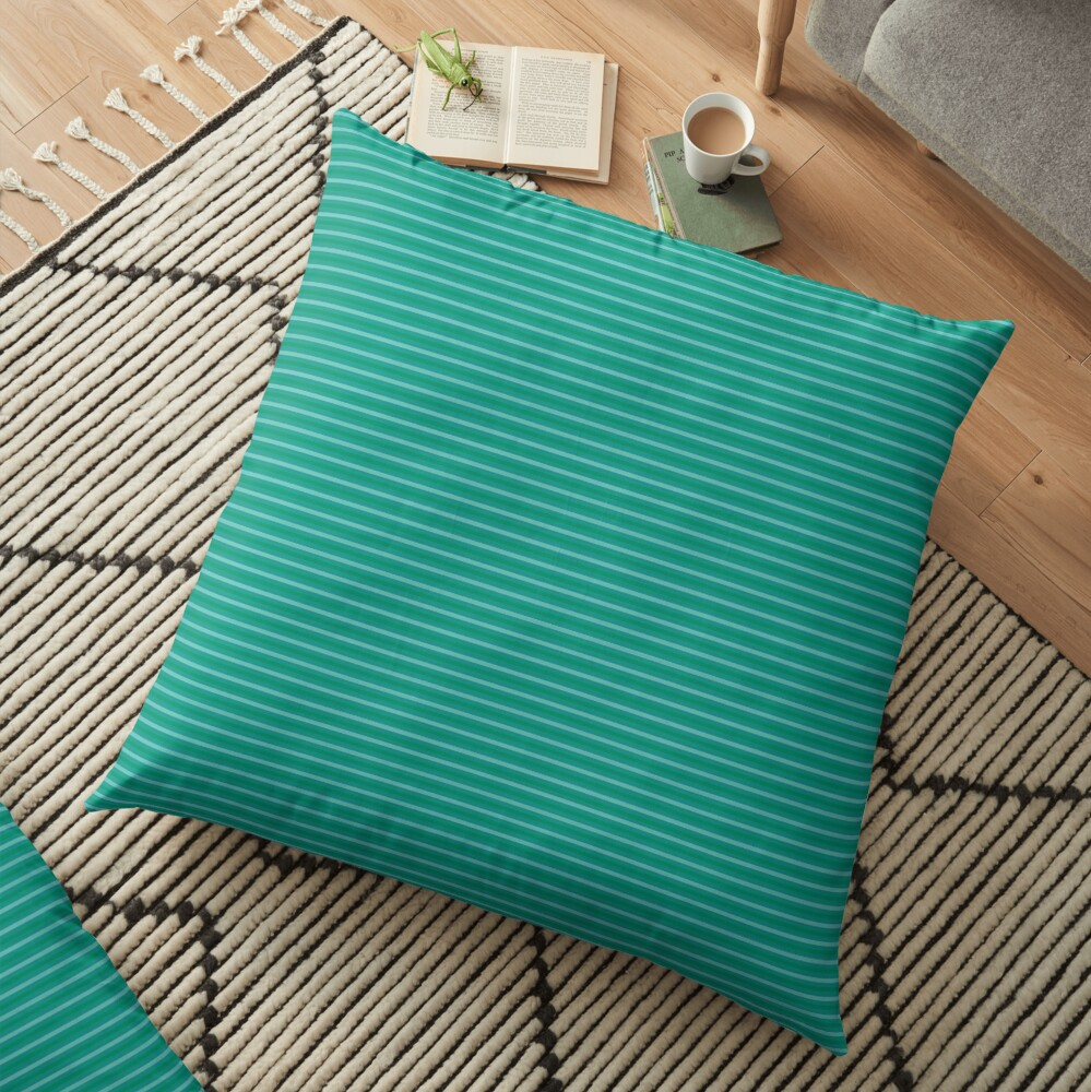 Pattern stripes Floor Pillow