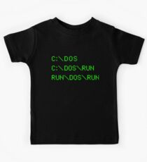 DOS RUN Kids Tee