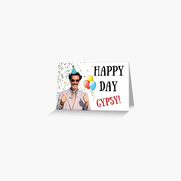 Borat birthday card, Borat greeting card, Graduation card, Anniversary card, Borat, Ali G, Bruno, meme greeting cards Greeting Card