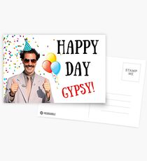 Borat birthday card, Borat greeting card, Graduation card, Anniversary card, Borat, Ali G, Bruno, meme greeting cards Postcards