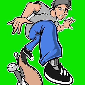 Heelflip Skater Boy by etourist
