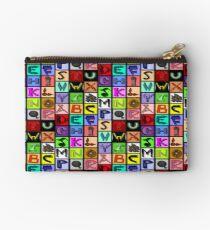 The Alphabet 2015/ Breathing in the Words Studio Pouch
