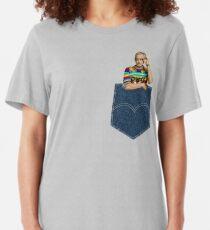 Pocket Jeff Goldblum  Slim Fit T-Shirt