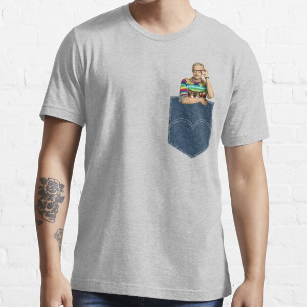 Pocket Jeff Goldblum  Essential T-Shirt