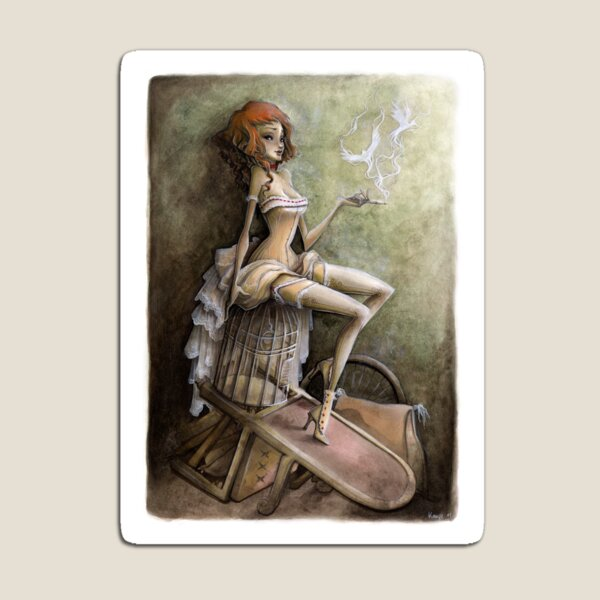 Mademoiselle Colombe Magnet