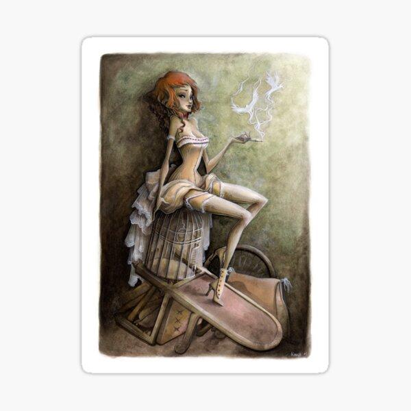 Mademoiselle Colombe Sticker