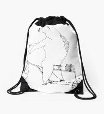 something fishy Drawstring Bag