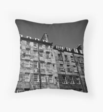 Royal Mile Flats Throw Pillow