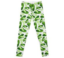 Veggiephile - Cucumbers Leggings