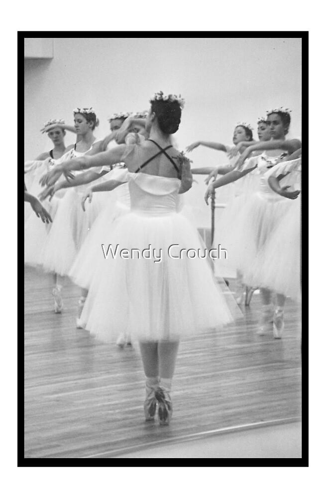 Dress Rehearsal III von Wendy Crouch