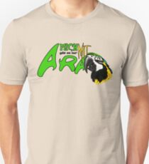 i am available only with ara Unisex T-Shirt