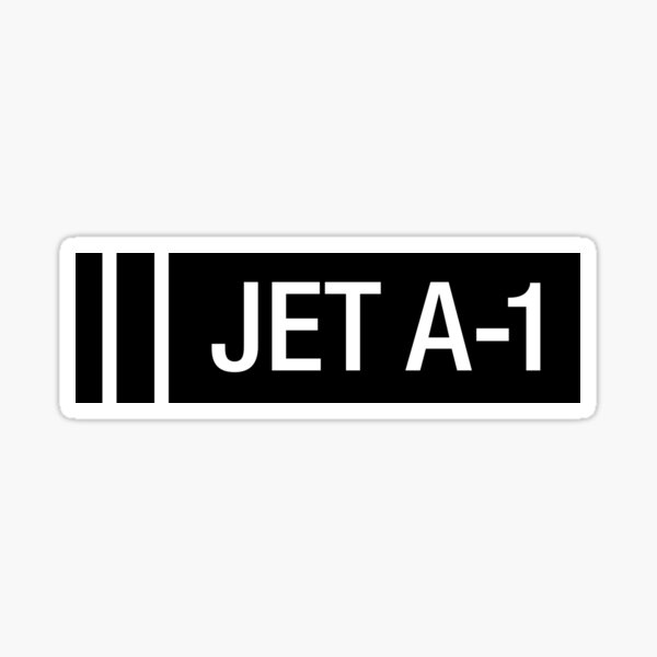 JET A-1 Sticker