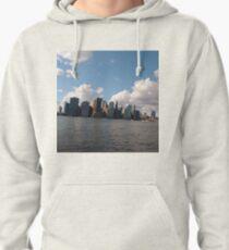 Manhattan, #Manhattan, New York City, #NewYorkCity, New York, #NewYork Pullover Hoodie