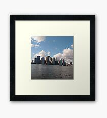 Manhattan, #Manhattan, New York City, #NewYorkCity, New York, #NewYork Framed Print