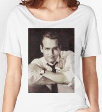 Paul Newman, Hollywood Legend Women's Relaxed Fit T-Shirt