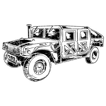 Military Vehicle Humvee by kihei-design